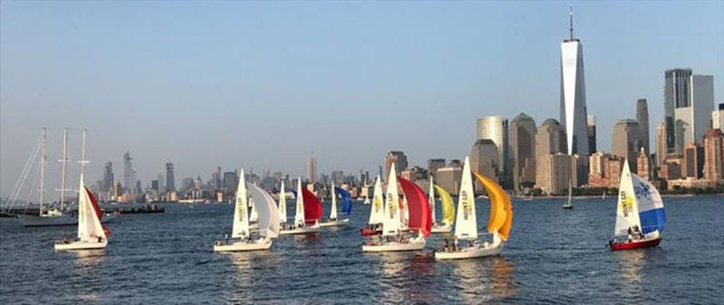 J/24 Racing at the Manhattan Yacht Club - photo © Manhattan Yacht Club