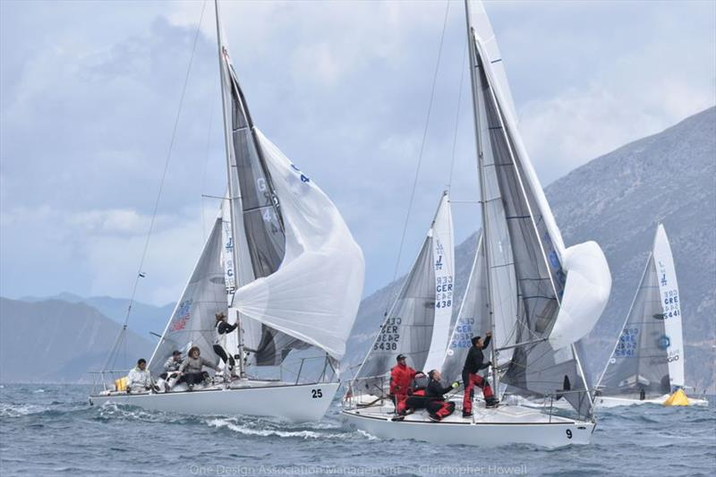 Day 1 - J/24 European Championship at Patras, Greece - photo © Christopher Howell