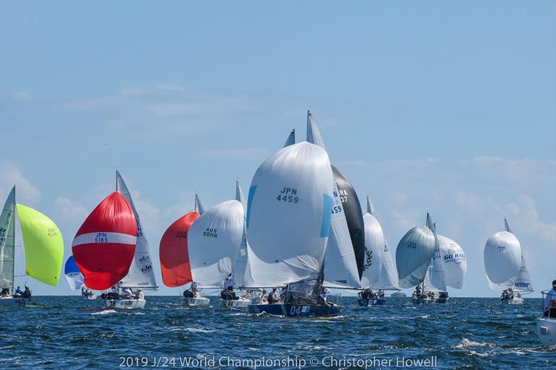 2019 J/24 World Championship at Miami, Florida - Day 1