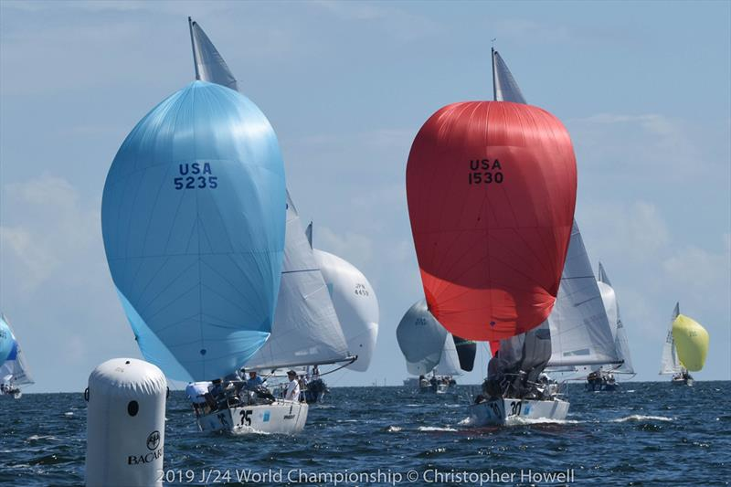 2019 J 24 World Championship - photo © Christopher Howell