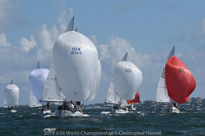 2019 J 24 World Championship - Day 3 - photo © Christopher Howell