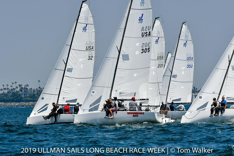 Ullman Sails Long Beach Race Week day 3 - photo © Tom Walker