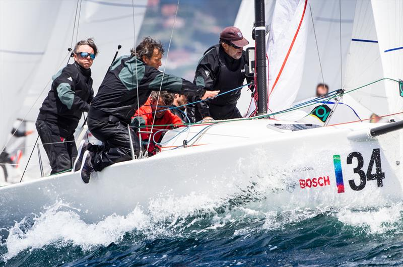 Jose María Torcida's 'Noticia' (ESP) - photo © 2018 J/70 European Championships / www.sailingshots.es