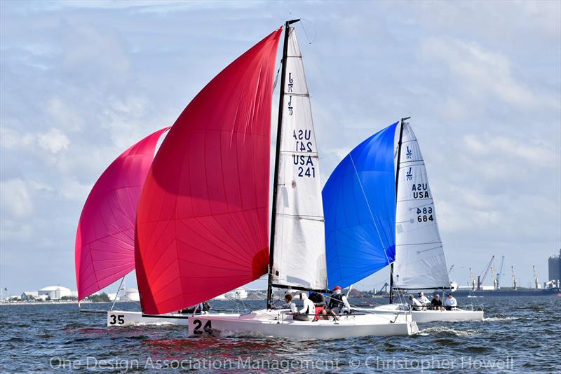 2019 J/70 Winter Series 3 photo copyright Christopher Howell taken at Davis Island Yacht Club and featuring the J70 class