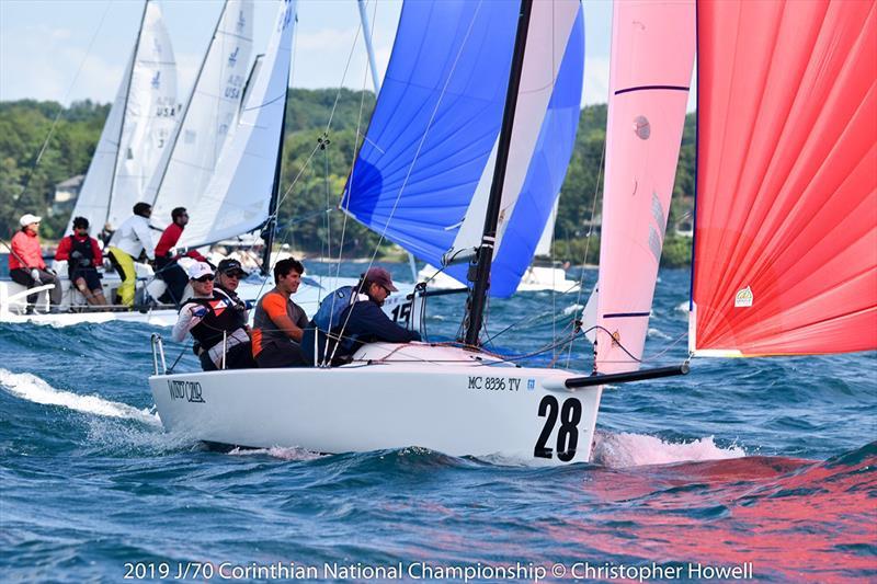 J/70 Corinthian US National Championship at Little Traverse Yacht