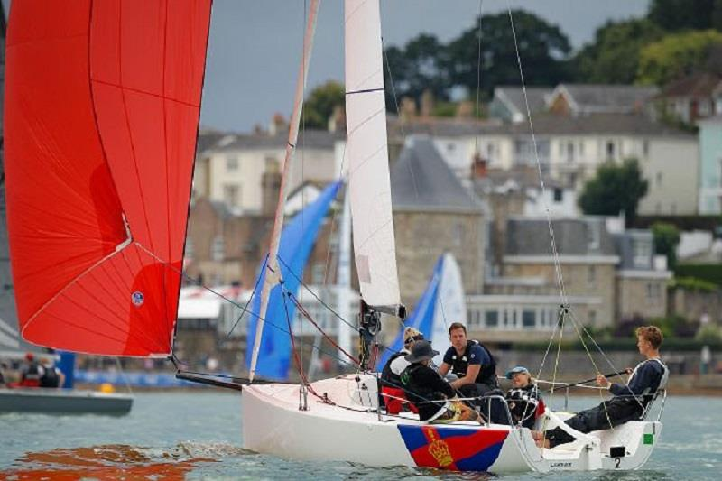 Lightfoot, J/70 (Race 1) - Cowes Week 2019 - Day 3 photo copyright Paul Wyeth / CWL taken at  and featuring the J70 class
