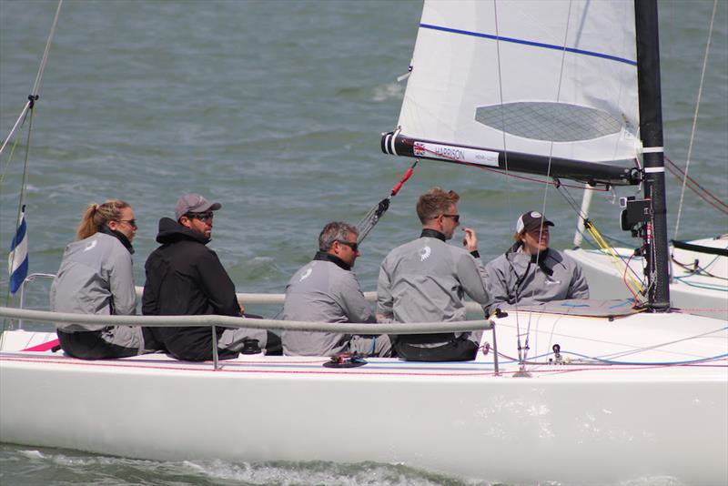 Tilly Harrison's Team Sorcha J - J/70 Grand Slam Series at 2019 Cowes Week photo copyright Louay Habib taken at Cowes Combined Clubs and featuring the J70 class