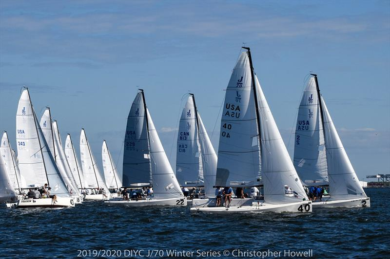 2019/2020 DIYC J 70 Winter Series 1 - photo © Christopher Howell