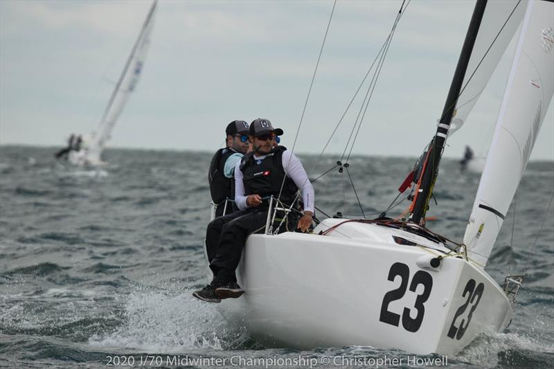 2020 J 70 Midwinter Championship - Day 1 - photo © Christopher Howell