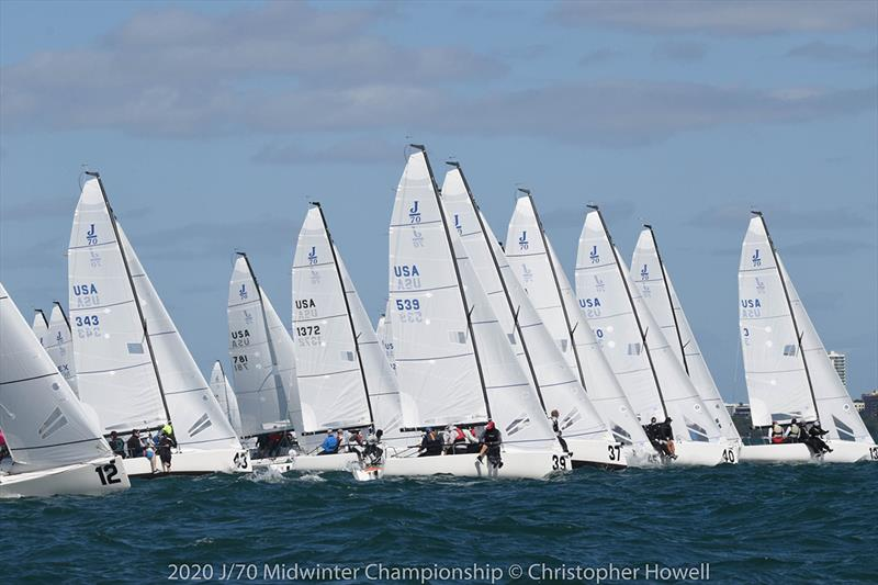 2020 J 70 Midwinter Championship - Final Day - photo © Christopher Howell