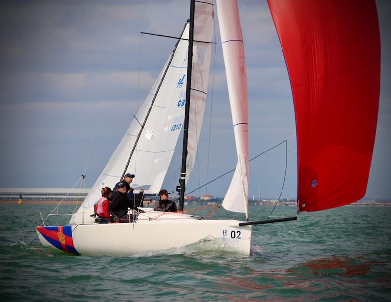 2020 J/70 UK National Championship photo copyright Louay Habib taken at Royal Southern Yacht Club and featuring the J70 class