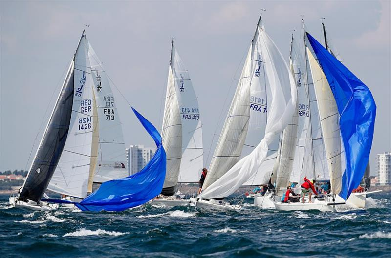 J/80 World Championship - Day 4 - photo © Pierrick Contin / www.pierrickcontin.com