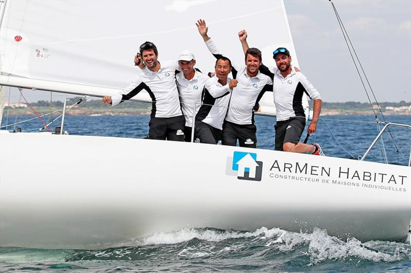 Armen Habitat take third place in the J/80 World Championship - photo © Pierrick Contin / www.pierrickcontin.com