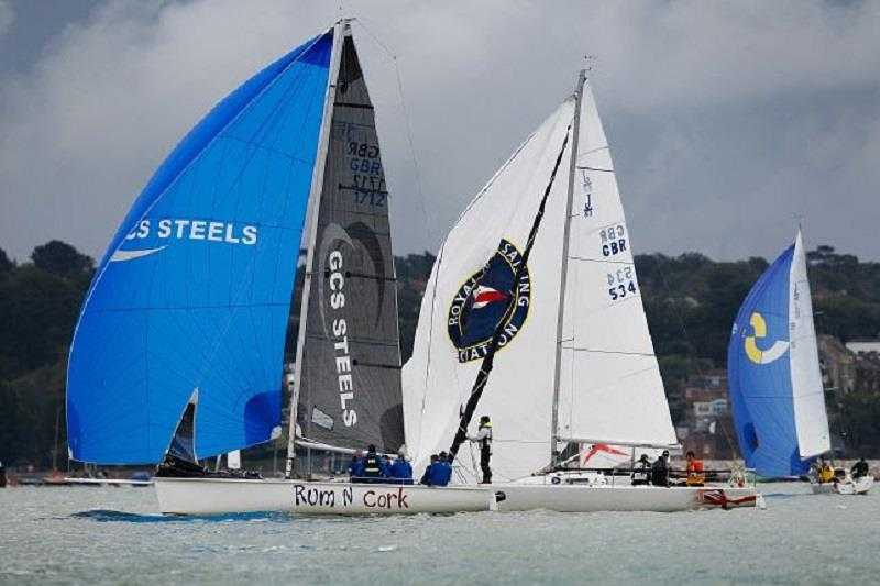 Jackaroo, Rum N Cork, Sportsboat: Cowes Week 2019 - Day 3 - photo © Paul Wyeth / CWL