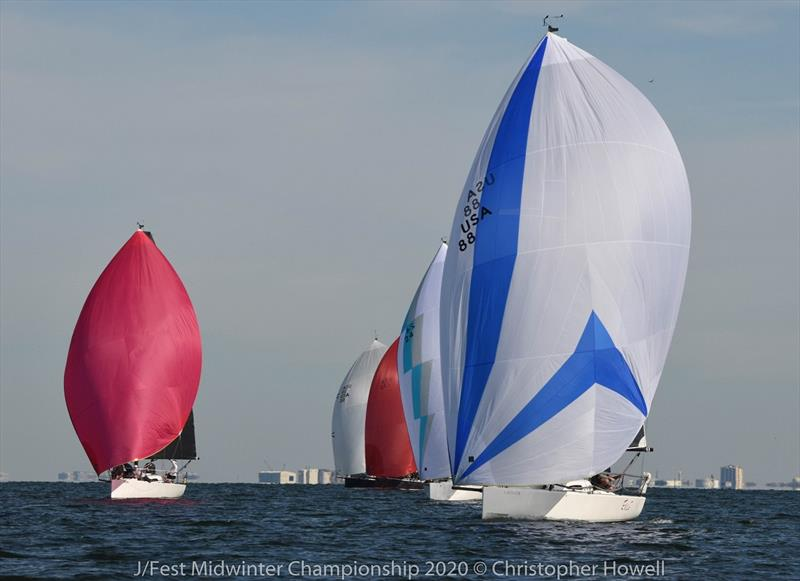 2020 J/88 Midwinter Championship - photo © Christopher Howell
