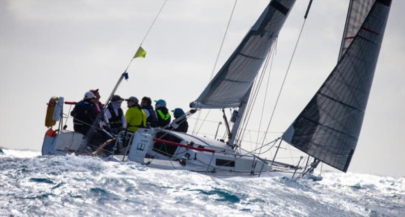 Brad Stowers' J/92 Hillbilly - Fort Lauderdale to Key West Race 2020 - photo © Sharon Green / Ultimate Sailing