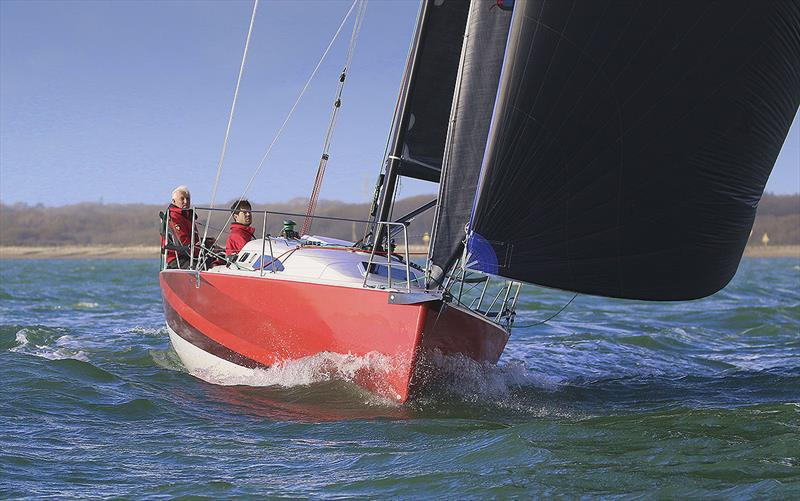 Let's go racing - J/99 photo copyright J Composites taken at  and featuring the J/99 class