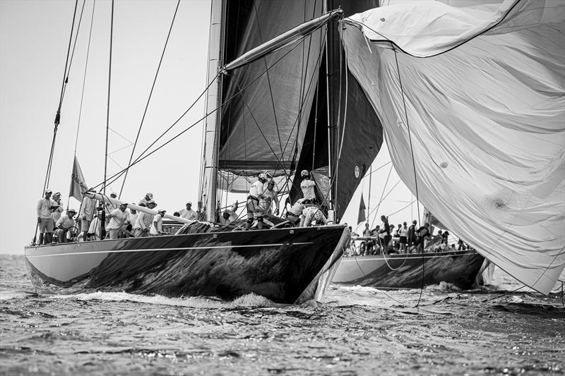 Topaz on the 2019 Superyacht Cup Palma final day - photo © Sailing Energy