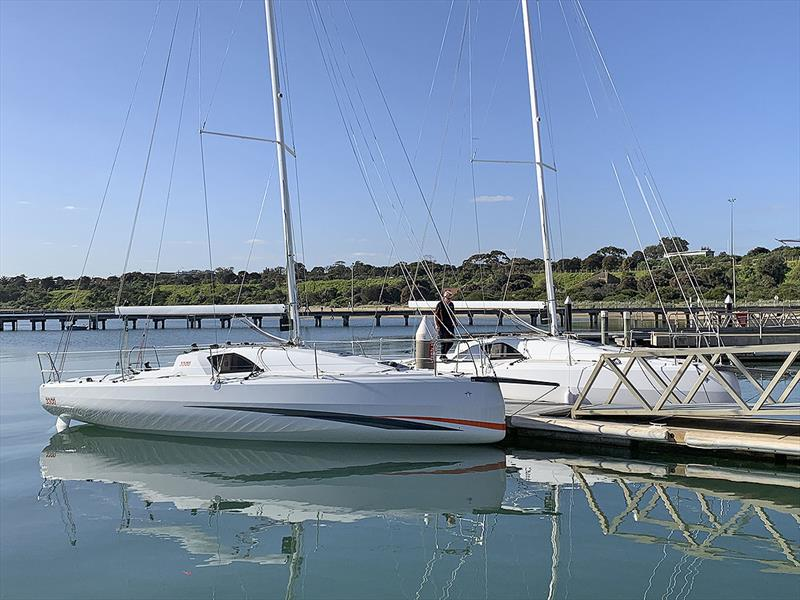 The first two Jeanneau Sun Fast 3300s to arrive at the Sandringham Yacht Club.in Melbourne. - photo © 38 South Boat Sales