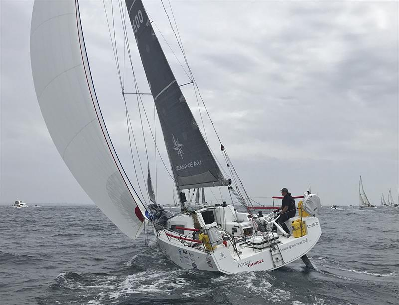 Jenneau Sun Fast 3600, Double trouble sailing double-handed - photo © Rohan Veal