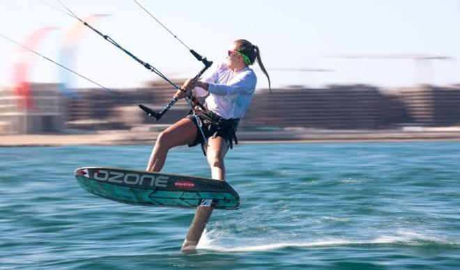 Formula Kite World Champion Daniela Moroz nominated Rolex World Sailor of the Year - photo © Ian MacKinnon