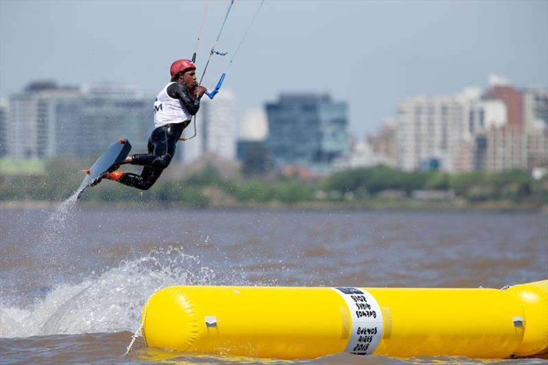 Adeury Corniel (DOM) - Day 1 - 2018 Youth Olympic Games Buenos Aires - photo © Matias Capizzano / World Sailing