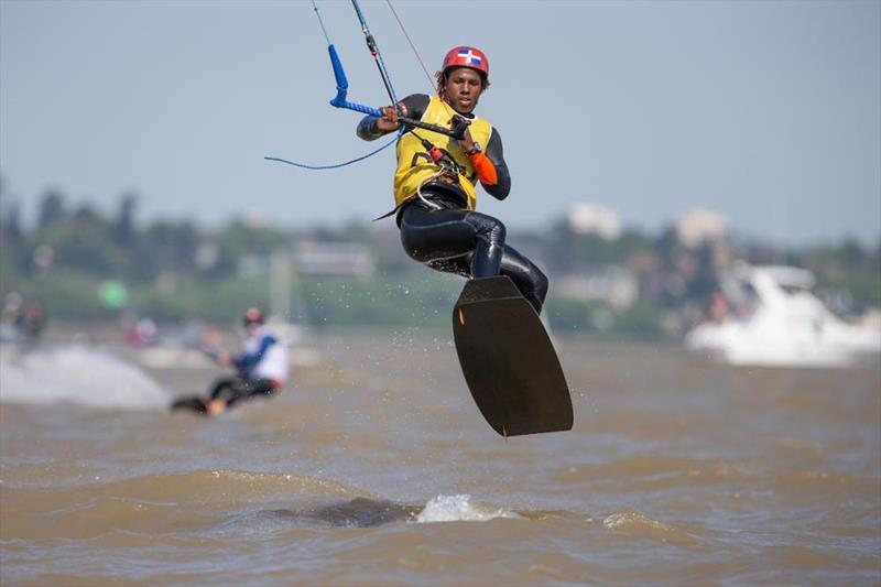 Spain take a leap towards a silver medal - 2018 Youth Olympic Games - photo © Matias Capizzano / World Sailing
