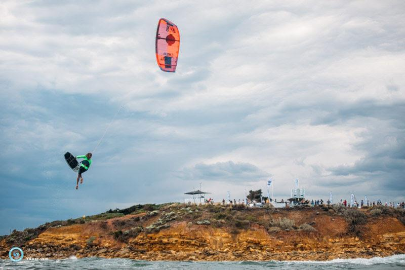 Foil feels in the morning before the riders warmed up - GKA Kite-Surf World Tour Torquay - Day 1 - photo © Ydwer van der Heide