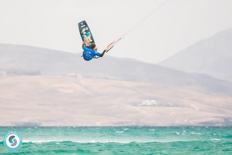 Stefan won his round one heat with surgical precision - GKA Freestyle World Cup Fuerteventura 2019 - photo © Svetlana Romantsova