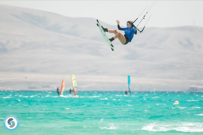 Bruna's experience shone through in the early rounds - GKA Freestyle World Cup Fuerteventura 2019 - photo © Svetlana Romantsova
