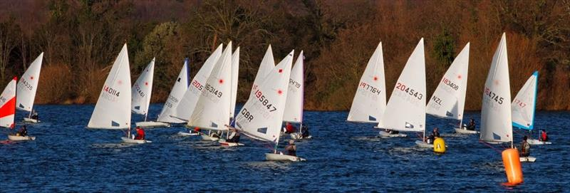 Alton Water Frostbite Series day 2 photo copyright Bob Aldous-Horne taken at Alton Water Sports Centre and featuring the Laser class