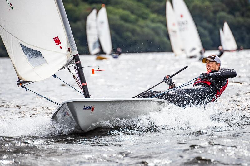 The ONE Bassenthwaite Lake Sailing Week photo copyright Peter Mackin taken at Bassenthwaite Sailing Club and featuring the Laser class