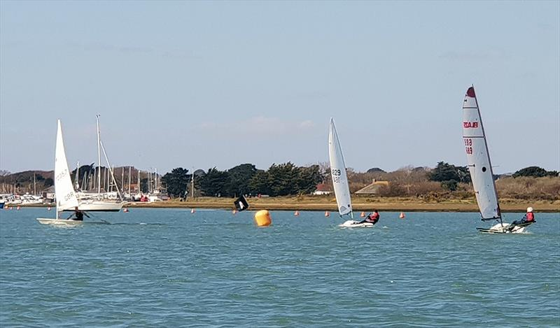 Keyhaven YC Spring Series Races 1 & 2 - photo © Cy Grisley & Tom Compton