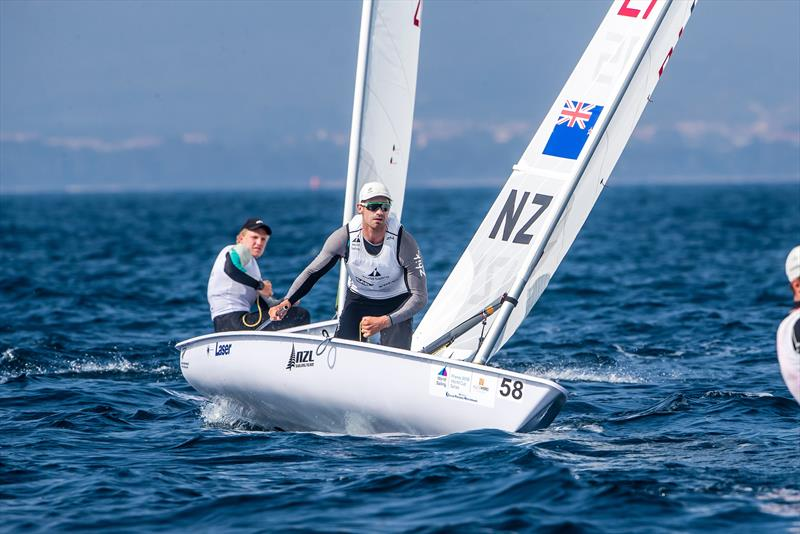 Laser - Sam Meech - Sailing World Cup, Hyeres, April 29, 2018 - photo © Jesus Renedo / Sailing Energy
