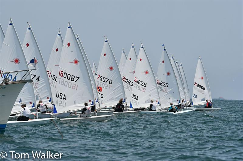 The Moorings Laser North American Championship - photo © Tom Walker