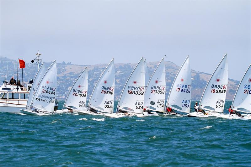 Leaders holding fast in Laser Masters North American