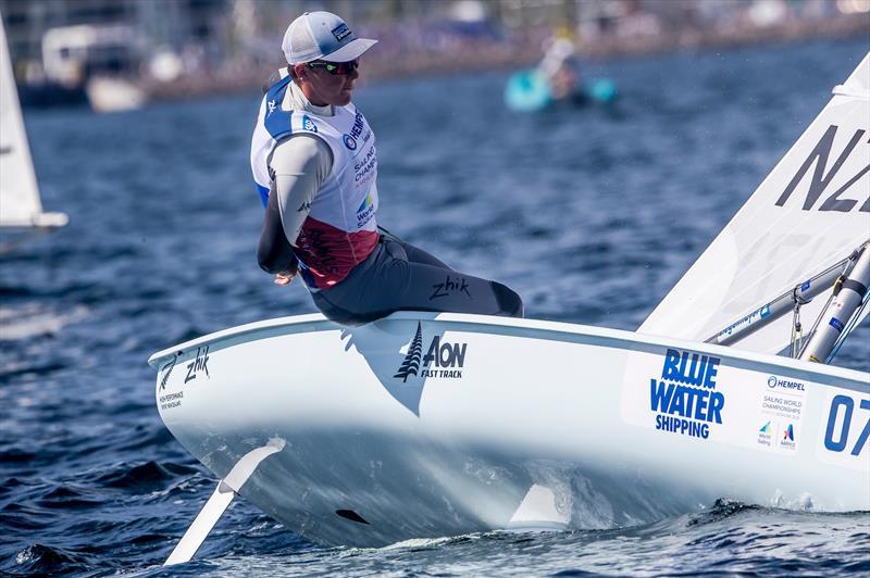 George Gautrey (NZL) - Laser - Hempel Sailing World Championships, Aarhus, Denmark, August 2018 - photo © Sailing Energy / World Sailing