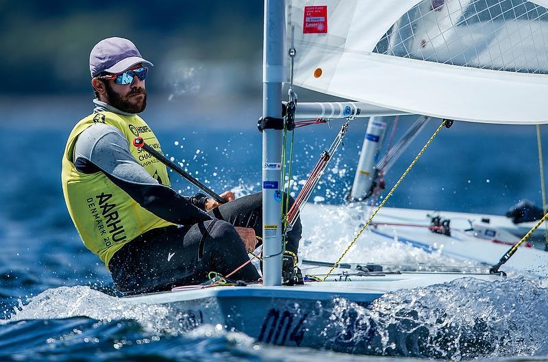 Sam Meech (NZL) - Laser - Day 8 - Hempel Sailing World Championships 2018 - Aarhus, Denmark, August 2018 - photo © Sailing Energy / World Sailing