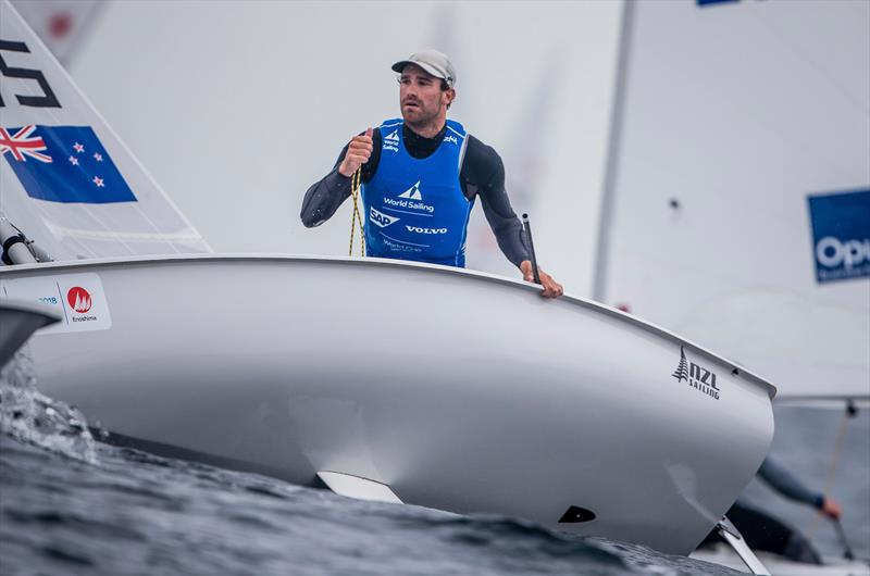 Sam Meech - NZL - Laser - Sailing World Cup Enoshima, August 2018 - photo © Sailing Energy