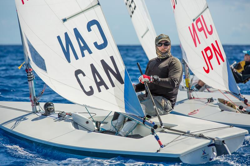 Paul Clifford at the 2017 Caribbean Laser Midwinter Regatta - photo © Image courtesy of Carib Wind Cabarete Laser training center