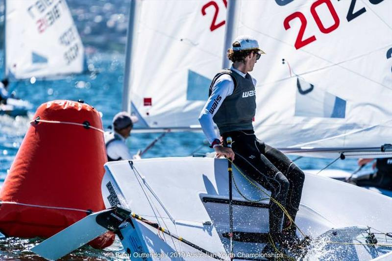 Laser fleet - Day 1, 2019 Australian Sailing Youth Championships - photo © Beau Outteridge / 2019 Australian Youth Championships