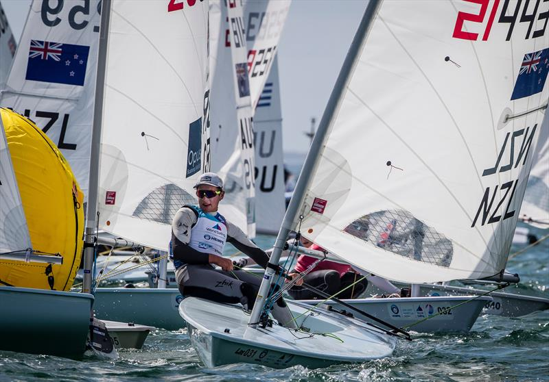 George Gautrey -(NZL) - Laser - Sailing World Cup Miami - February 2019 - photo © Sailing Energy / World Sailing