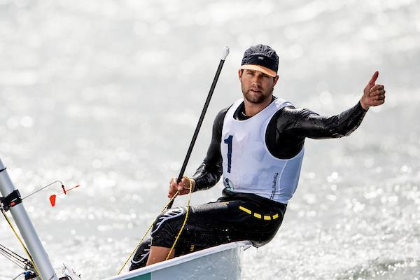 American Laser sailor Chris Barnard wins gold at the 2019 Trofeo Princesa Sofia Iberostar - photo © ©Pedro Martinez/SAILING ENERGY/50th Trofeo Princesa Sofia Iberostar 06 April, 20