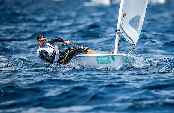 American Laser sailors Chris Barnard en route to winning gold at the 2019 Trofeo Princesa Sofia Iberostar - photo © ©Jesus Renedo/SAILING ENERGY/50th Trofeo Princesa Sofia Iberostar
