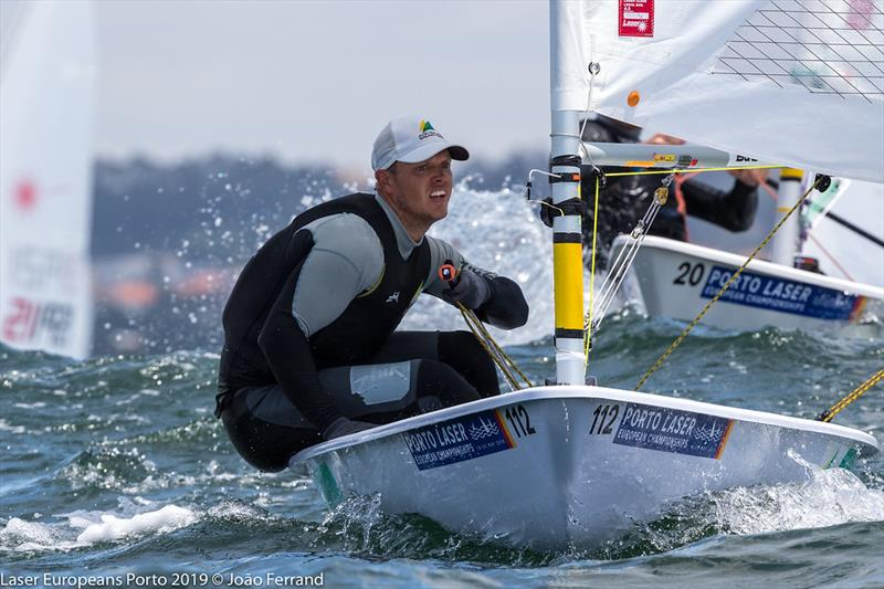 Laser European Championship 2019 - photo © Joao Ferrand