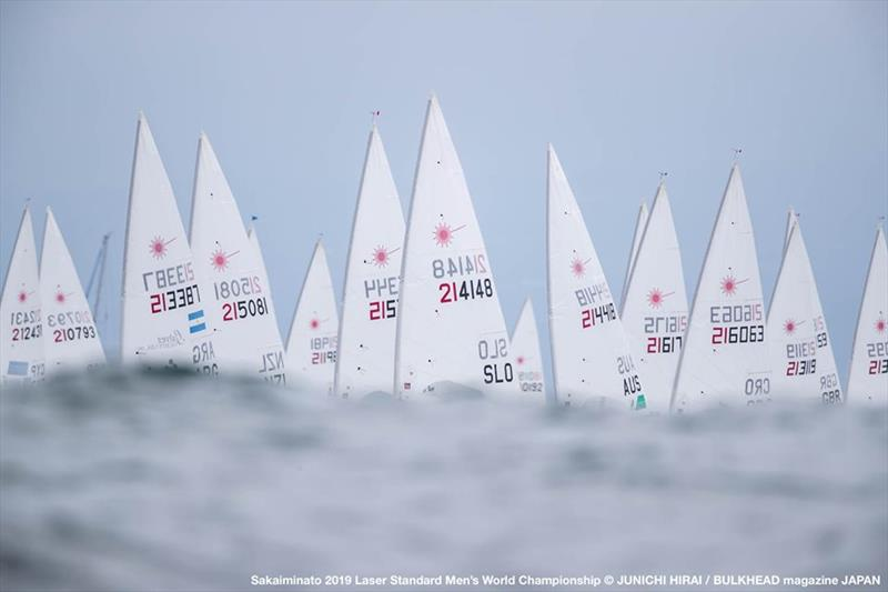 2019 Laser World Championship at Sakaiminato, Japan - photo © Junichi Hirai / Bulkhead Magazine Japan