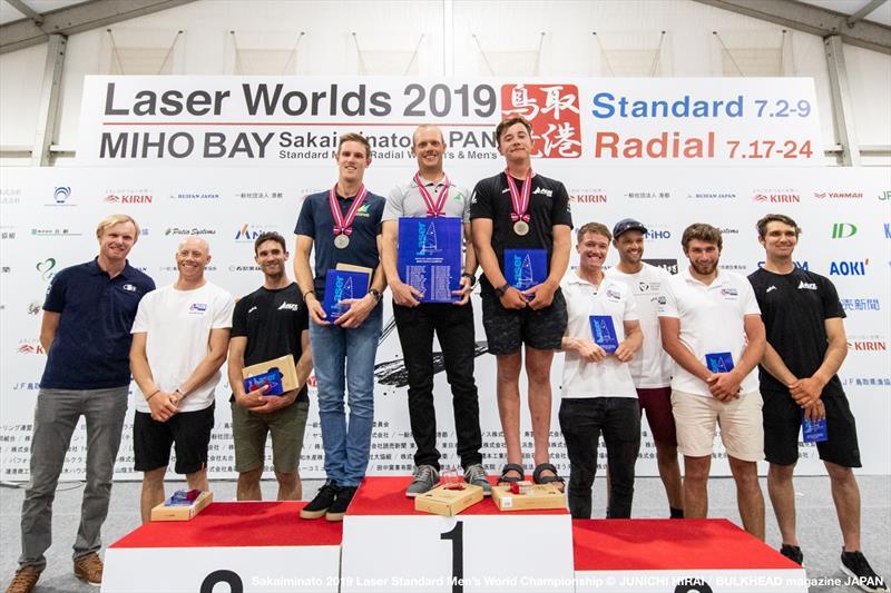 New Zealand takes three places in the top ten - Day 6, World Laser Championship, Sakaiminato, Japan July 2019 - photo © Junichi Hirai