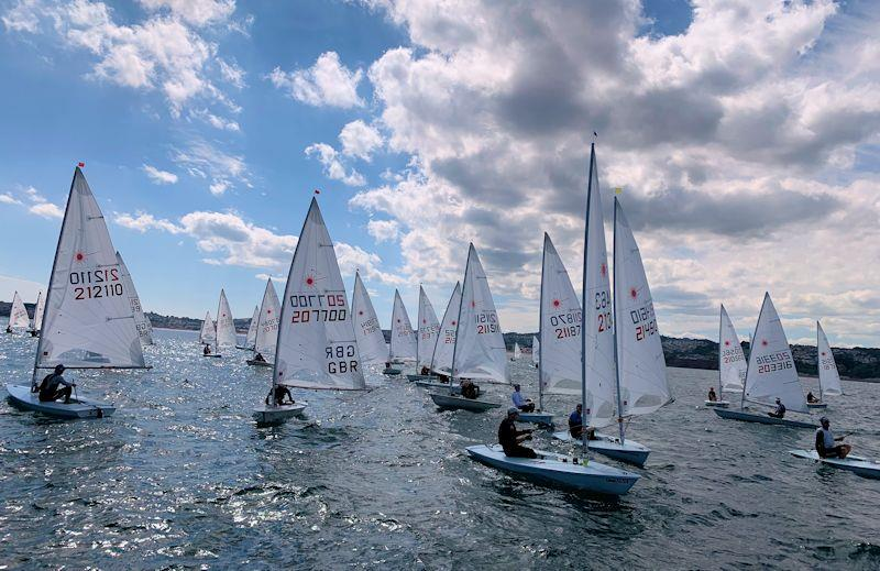 Laser Masters Championship at Royal Torbay - photo © Guy Noble