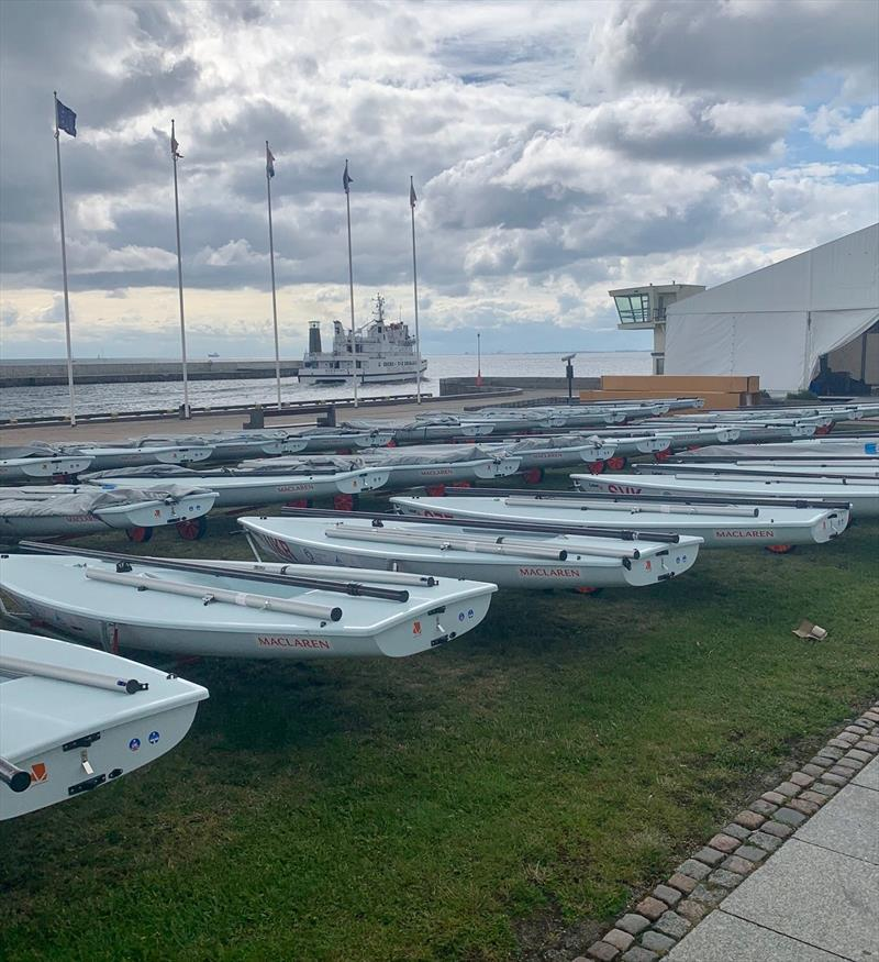 LPE supplied Lasers at the 2019 Hempel Youth Worlds in Poland. - photo © Laser Performance Europe