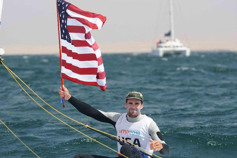 Charlie Buckingham - 2019 Pan American Games Lima - photo © US Sailing